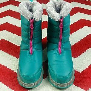 90642ad93932 Khombu Shoes - Khombu Girls Mimi Boots Blue Lapis New Size 5